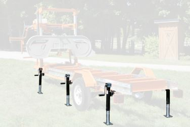 Norwood Sawmills Trekker Trailer System Support Jack Package