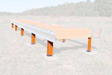 Norwood Sawmills Leveling Stands