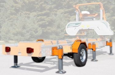Norwood Sawmills Trailer/Support Jack Package