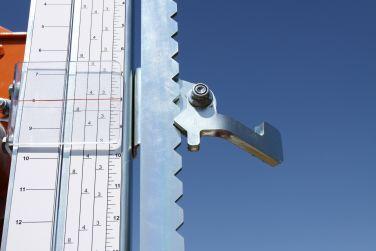 Norwood Sawmills Quick-Click Indexing Detent Setworks Scales