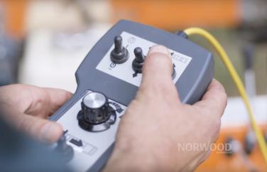 Norwood Sawmills Computer Setworks Remote Pendant