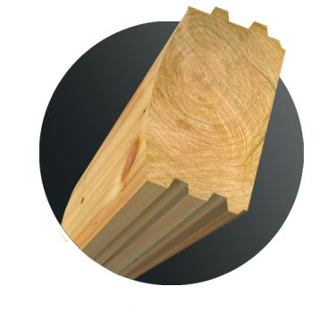 Norwood Log Moulder Knife Profile Package - 6 x 8 Traditional D (Knives - 3 pair)