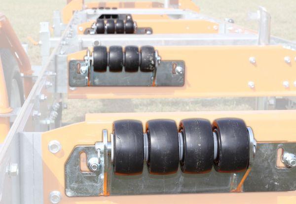 Norwood Sawmills Board Offloading Rollers