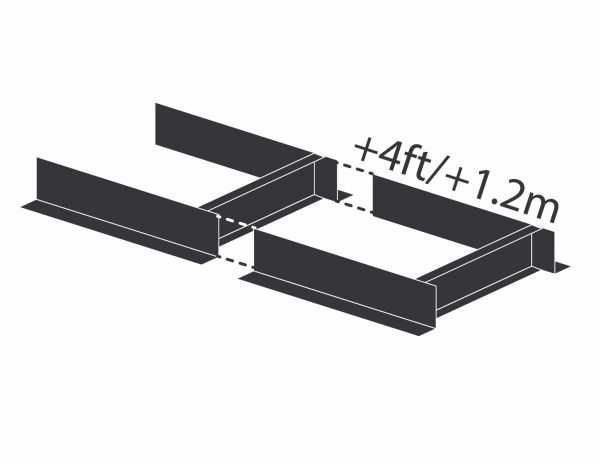 1.2 m (4 ft) Bed Extension