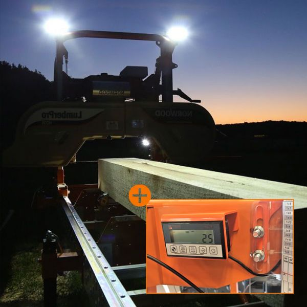 Norwood Sawmills Digital Scale and Lighting Kit