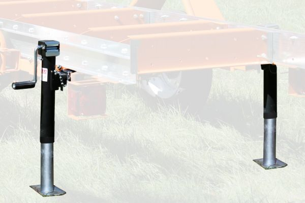 Norwood Sawmills Trekker Trailer System extension support jack package
