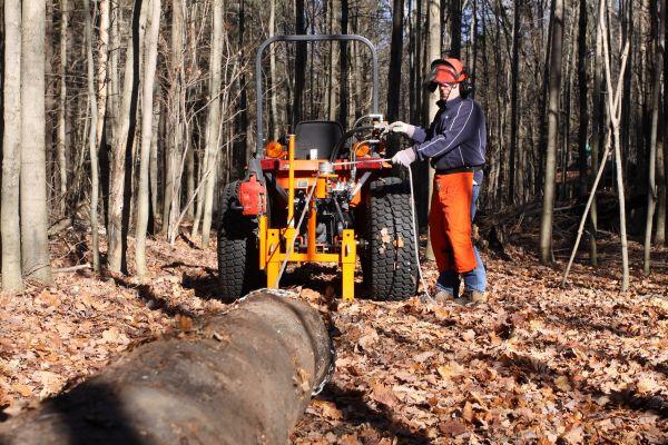Norwood Skid-Winch - Hydraulic Log Skidding Winch