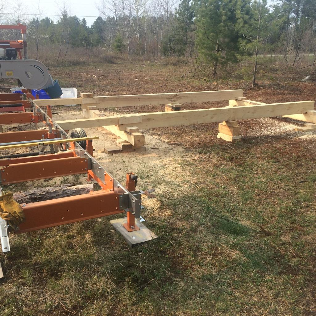 The Whys & Hows of Building a Log Loading Deck for Your Bandsaw Mill