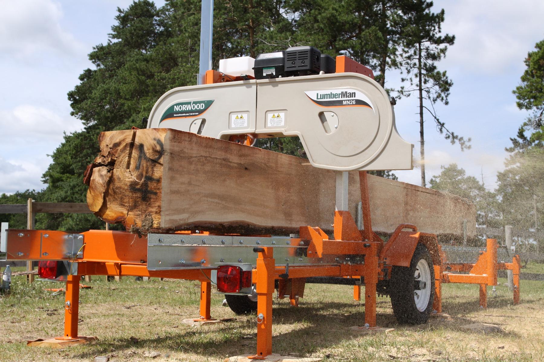 Norwood LumberMan MN26 SAWMILL